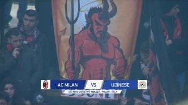 Full match: AC Milan vs Udinese