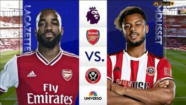 Full match: Arsenal vs Sheffield United
