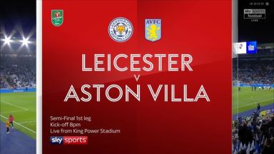 Full match: Leicester City vs Aston Villa