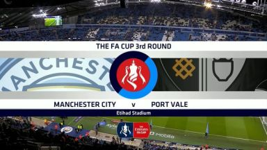 Full match: Manchester City vs Port Vale