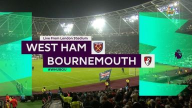 Full match: West Ham United vs AFC Bournemouth