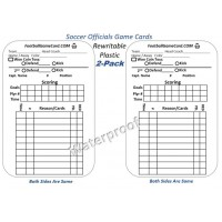 Football Offcial Game Cards & Referee Game Logs