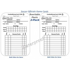 Soccer Referee Game Cards & Game Logs