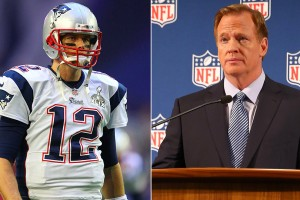 Brady and Goodell - DeflateGate