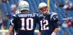 Garoppolo and Brady
