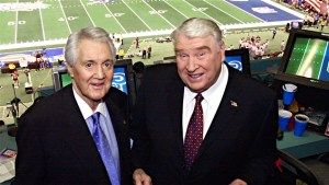 Pat Summerall & John Madden - AP Photo