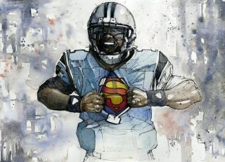 Cam Newton by Michael Pattison
