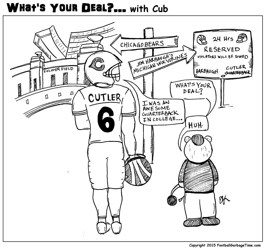 What's Your Deal - Jay Cutler