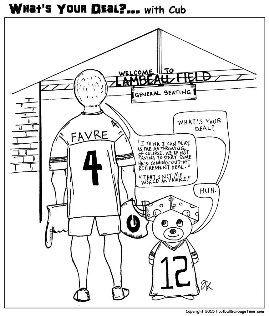 What's Your Deal - Brett Favre v2
