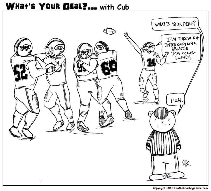What's Your Deal - Color Blind