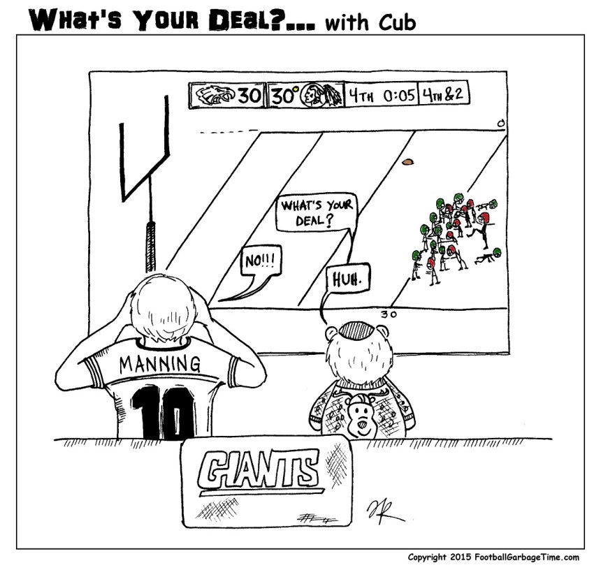 What's Your Deal - Eli Manning