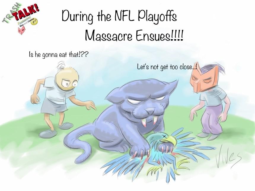 Trash Talk - Panthers Seahawks