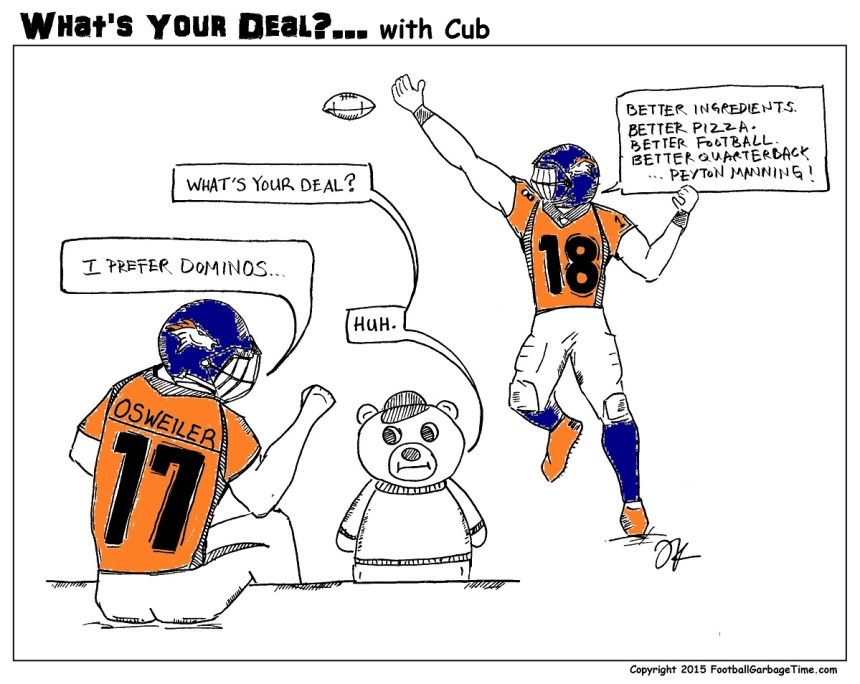 What's Your Deal - Peyton Manning Part 2 Color