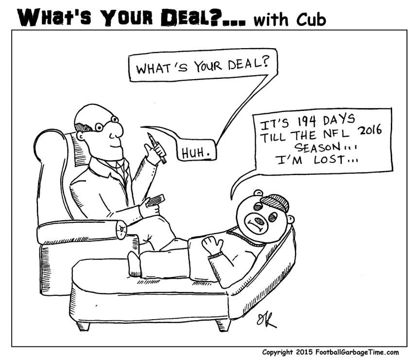 Whats Your Deal - Cub Offseason - Medium