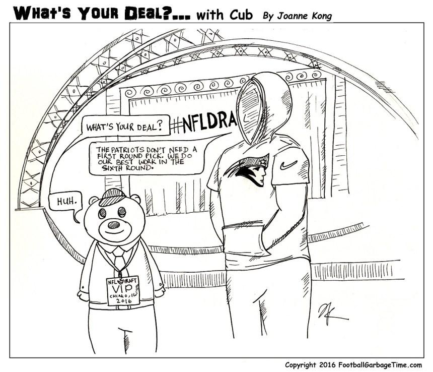 What's Your Deal - Belichick - Medium