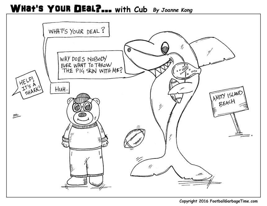 Whats Your Deal - Shark - Medium