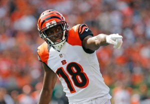 AJ Green - USA Today Sports Photo