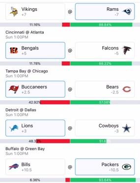 Wally Week 4 NFL Picks Part 1