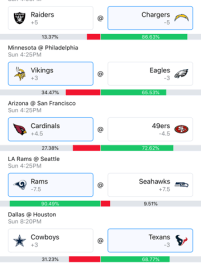Week 5 NFL Picks 2018 - Wally 3