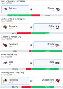 Week 10 NFL Picks 2018 - Wally 2