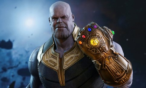 Thanos likes Infinity Stones