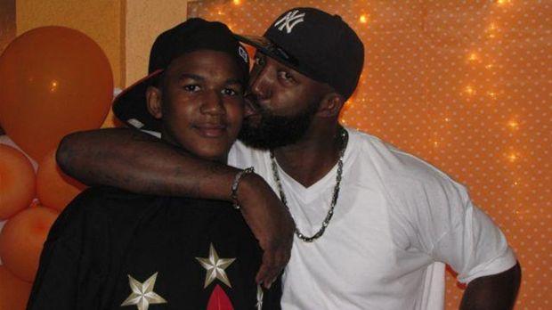 trayvon martin with dad