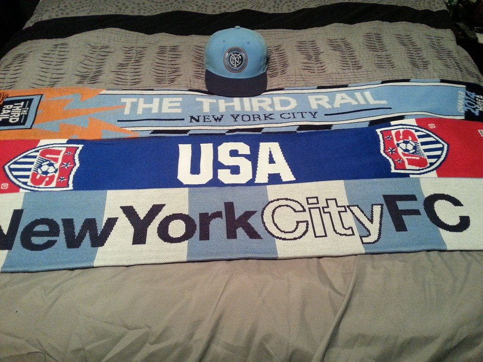 scarves football in the