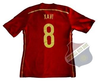 SPAIN HOME 2014-15 | #8 XAVI
