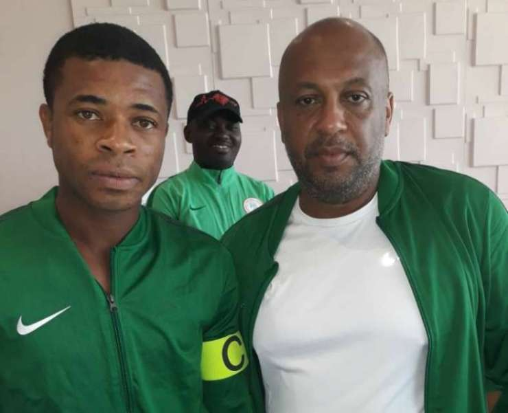 Image result for nigeria under 20 utin 'EVERYBODY FOR NAIJA NA YAHOO' – SEE WHAT FANS ARE SAYING ABOUT NIGERIA'S UNDER 20 SQUAD 'EVERYBODY FOR NAIJA NA YAHOO' – SEE WHAT FANS ARE SAYING ABOUT NIGERIA'S UNDER 20 SQUAD Ikouwem Udoh and Paul Aigbogun