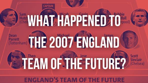 england team of the future