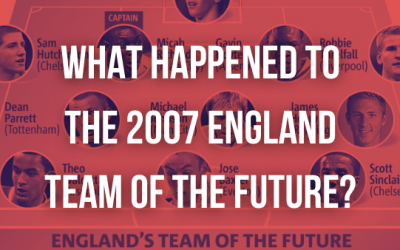 What Happened to the 2007 England Team of the Future?