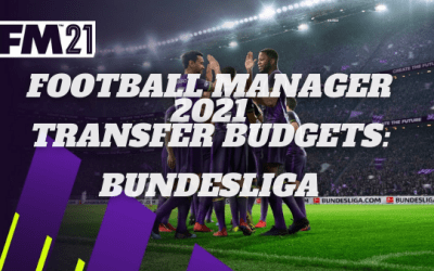 Football Manager 2021 Transfer Budgets: Bundesliga