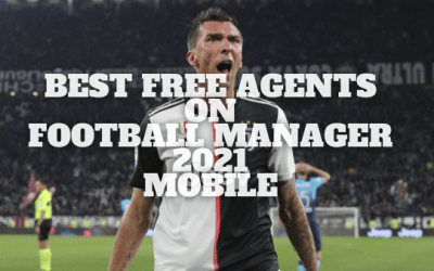Best Free Agents on Football Manager 21 Mobile
