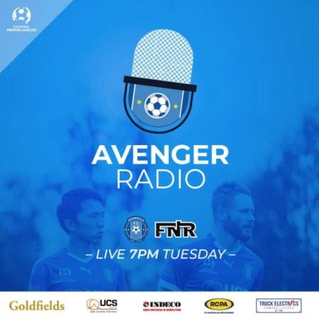 Avenger Radio Logo
