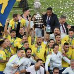 Brazil Down Peru To Lift Ninth Copa America Crown