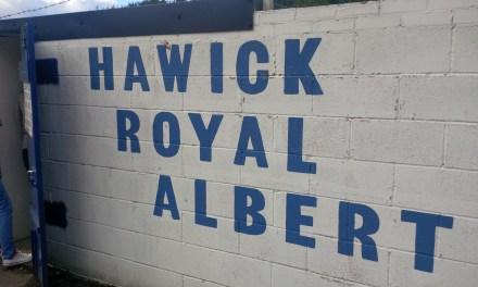 The Road to Hampden, Round 1: Hawick Royal Albert 0-1 St.Cuthbert Wanderers