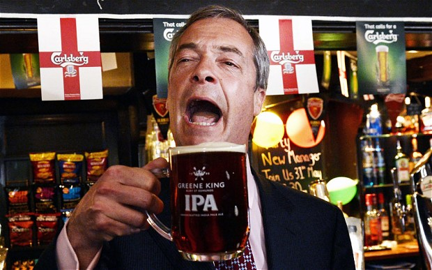 Making plans for Nigel – UKIP, Farage and England's World Cup future