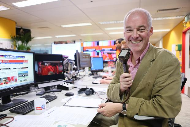 An interview with…commentator Jon Champion