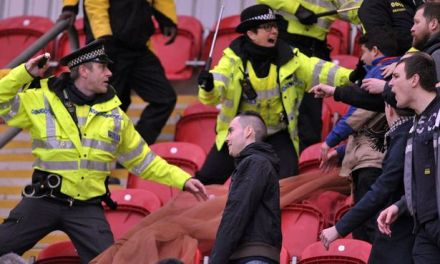 The wagging tongues of old women: Millwall fans head north to cause trouble