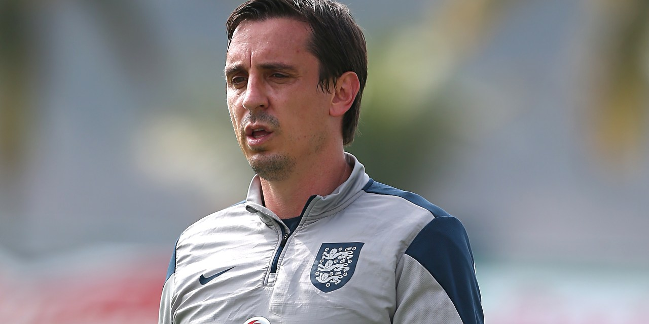 A new stop on Gary Neville's never-ending football adventure