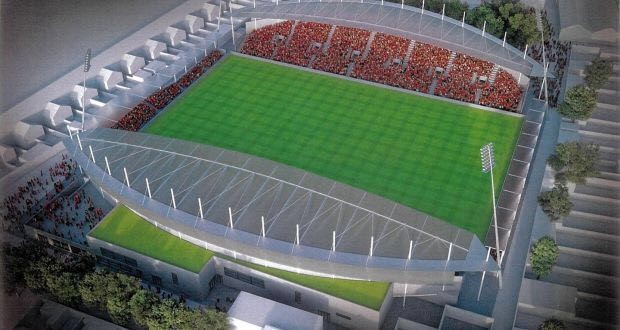 Proposed vision for a redeveloped Dalymount Park