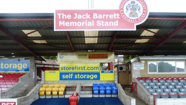 Making a Stand, part 4: Jack Barrett, Accrington Stanley