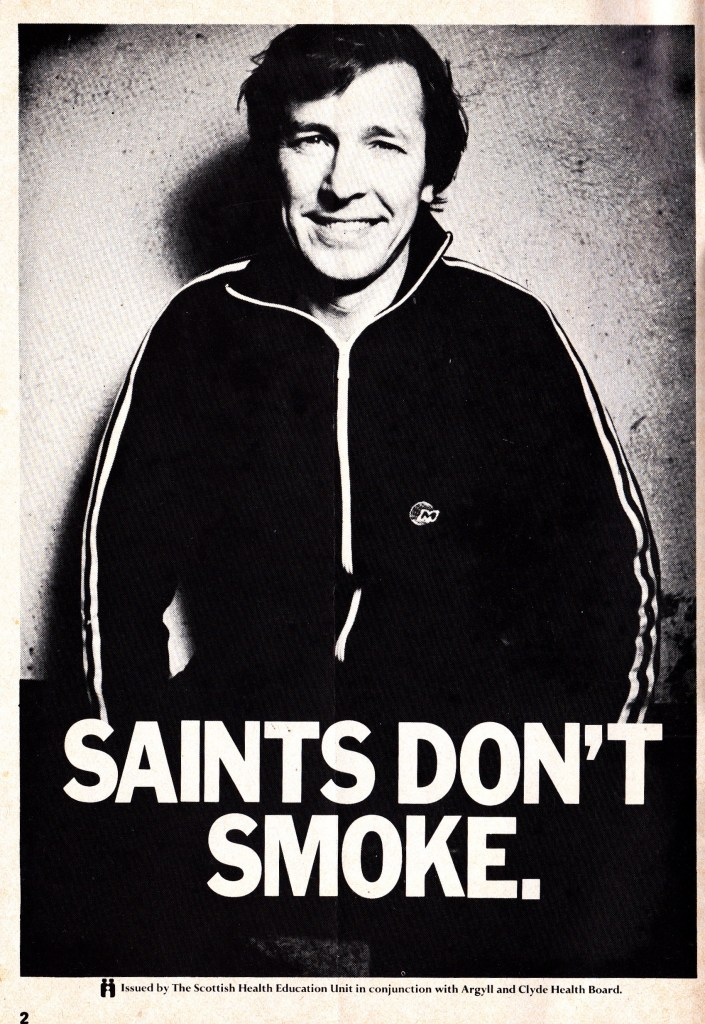 saints-dont-smoke-alex-ferguson