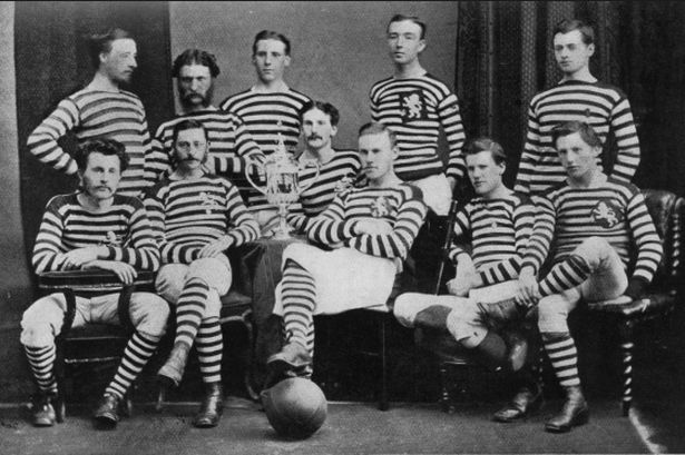 The Scotch Professors and 'combination football'