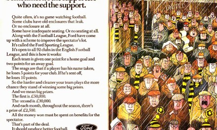 The competition that paid for a stand – The (short) history of the Ford Sporting League