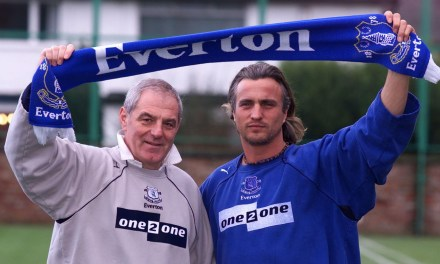 David Ginola and the sad Au Revoir at Everton
