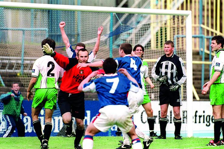 The goal that killed a football club