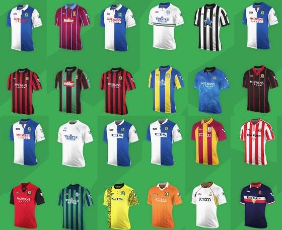 Premier League Asics kits
