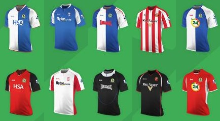 Premier League Lonsdale kits