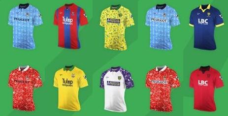 Premier League Ribero kits